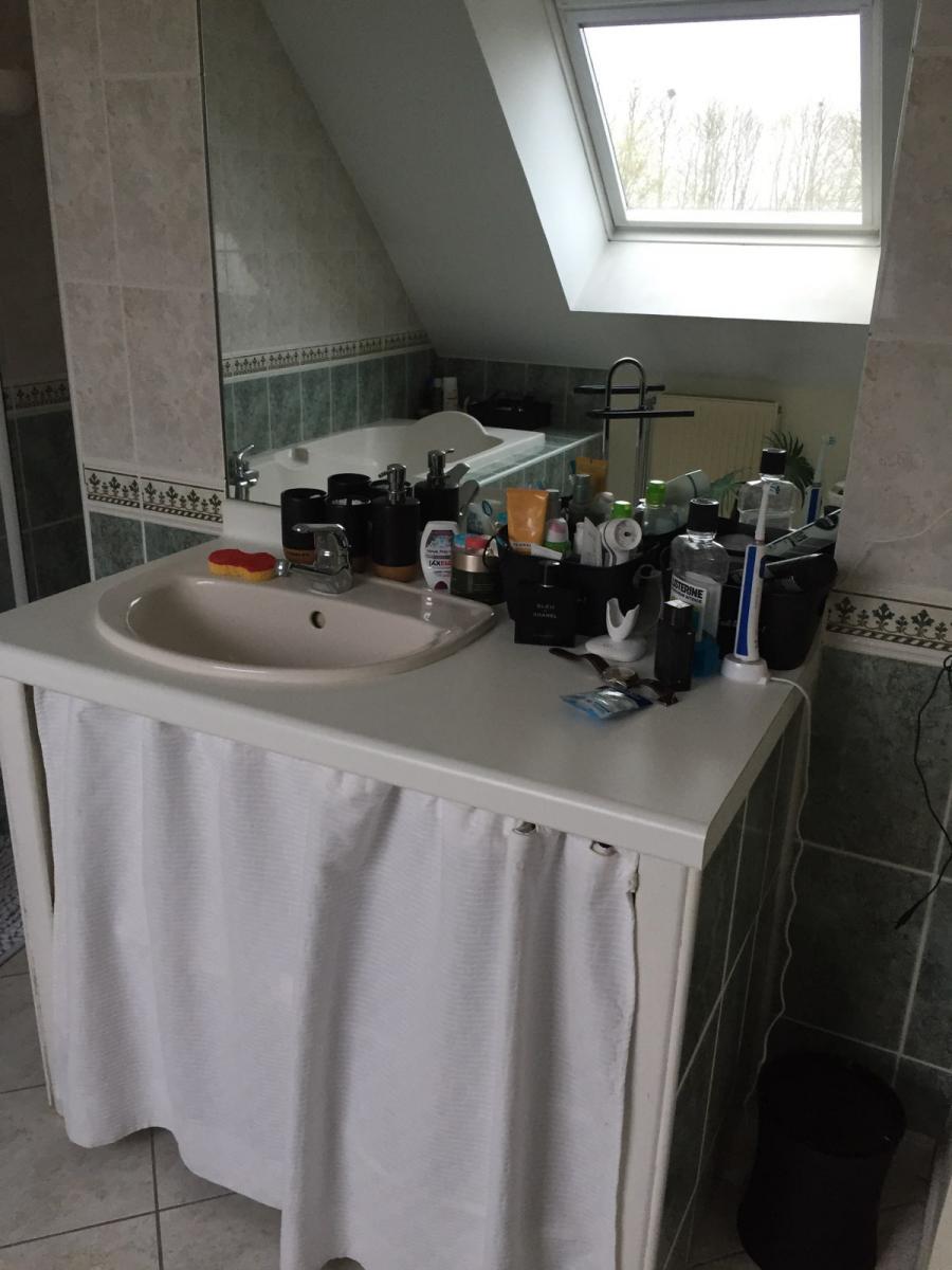 Salle de bain existante, avant travaux