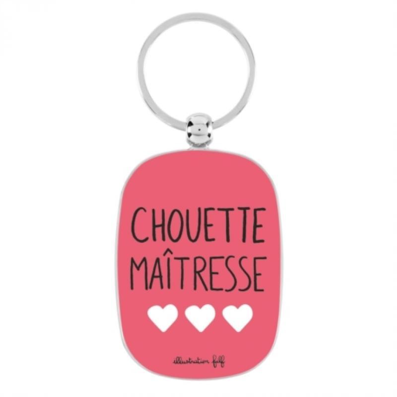 Porte-clés OPAT Chouette Maitresse