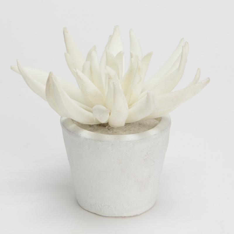 Pot Blanc Fleur Lotus