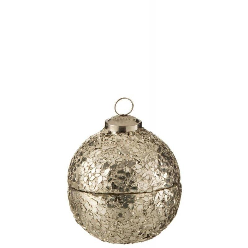 Bougie Boule de Noël