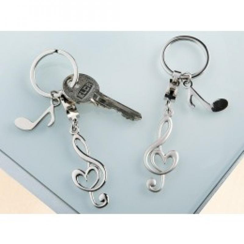 Porte clefs note de musique