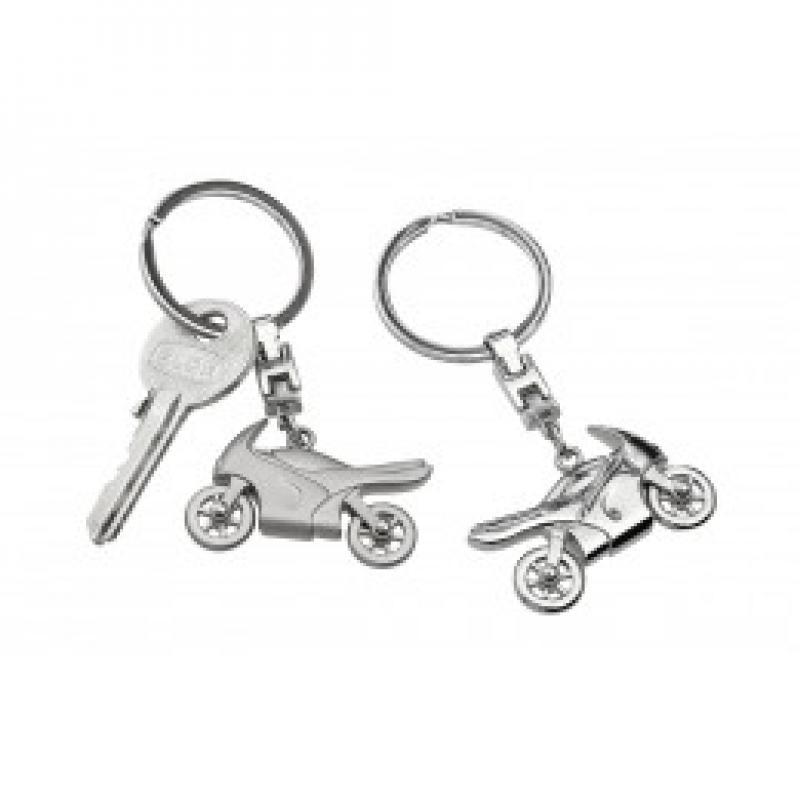 Porte clefs moto