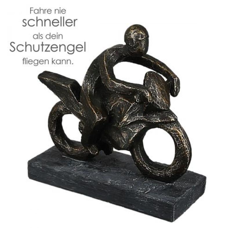 Sculpture MOTARD