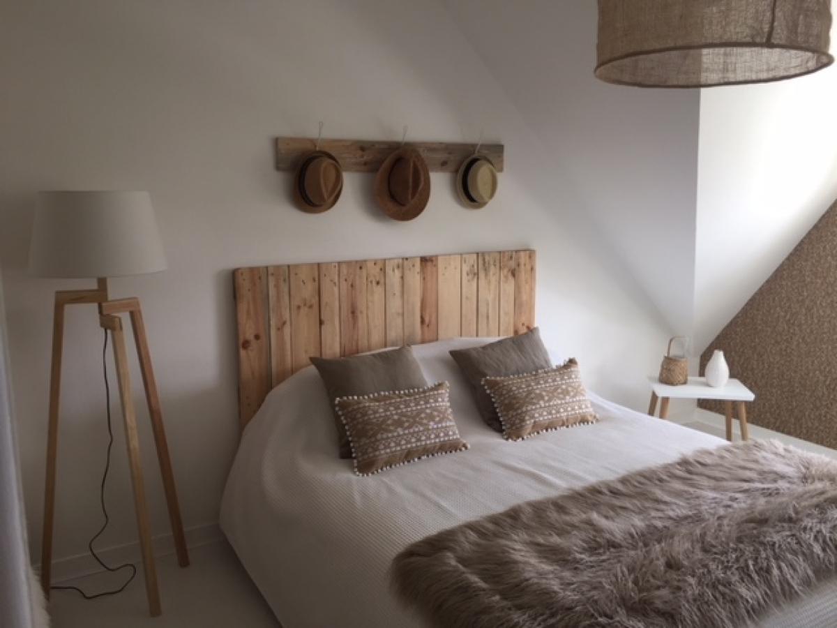 Rénovation d'une chambre avec installation d'une nouvelle déco