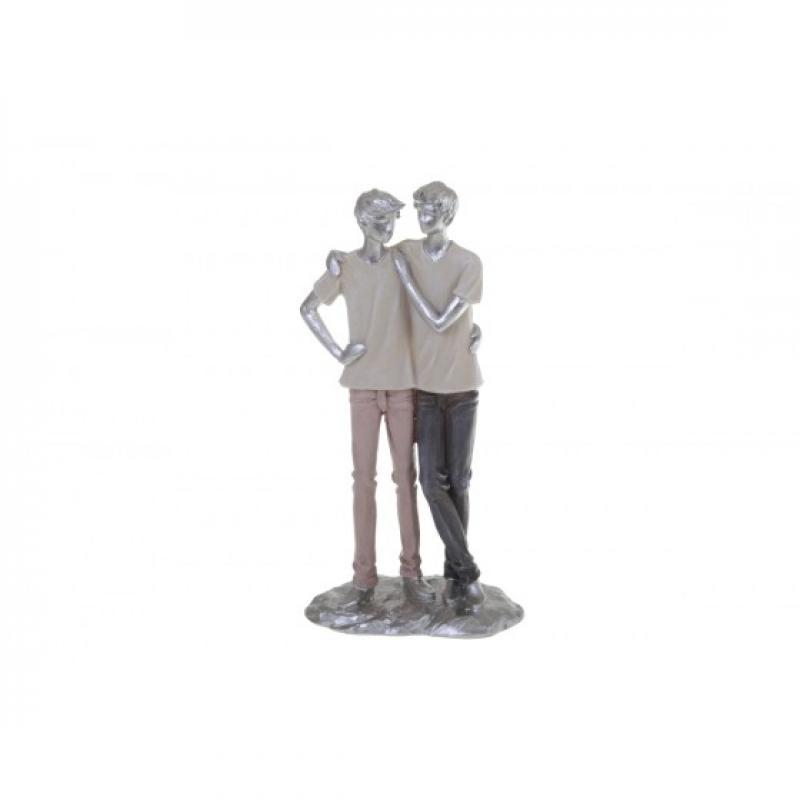 Cette collection de statuettes en polyrésine  LIFE  nous interpelle car  les postures des sujets  nous  renvoient à une émotion ou un sentiment.   Chaque  statuette offre un message particulier  lié à un  évènement  marquant dans nos vies:  naissance,  mariage, anniversaire,... Que vous   ayez choisi  cette statuette pour l'offrir ou  pour décorer  votre  intérieur, le symbole est là  et  l'interprétation au coeur de chaque  moment de   vie.