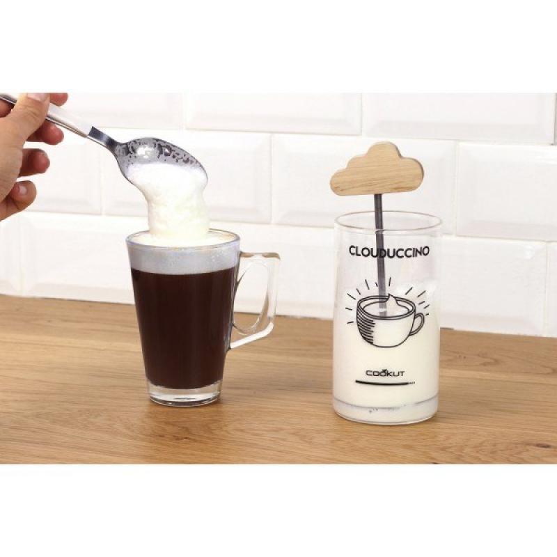 Mousseur à lait pour cappuccino