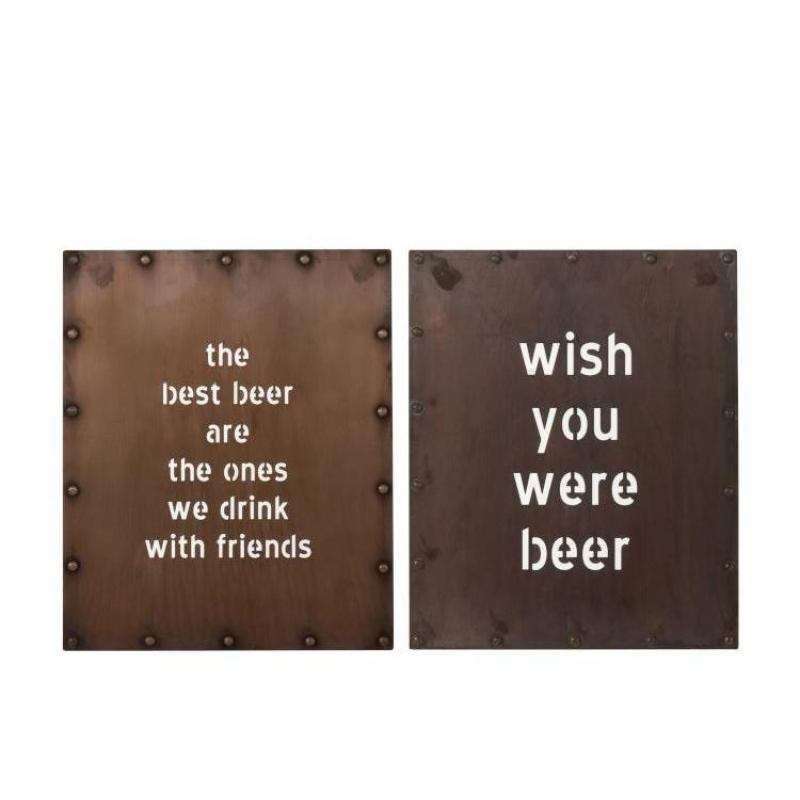 Plaque BEER