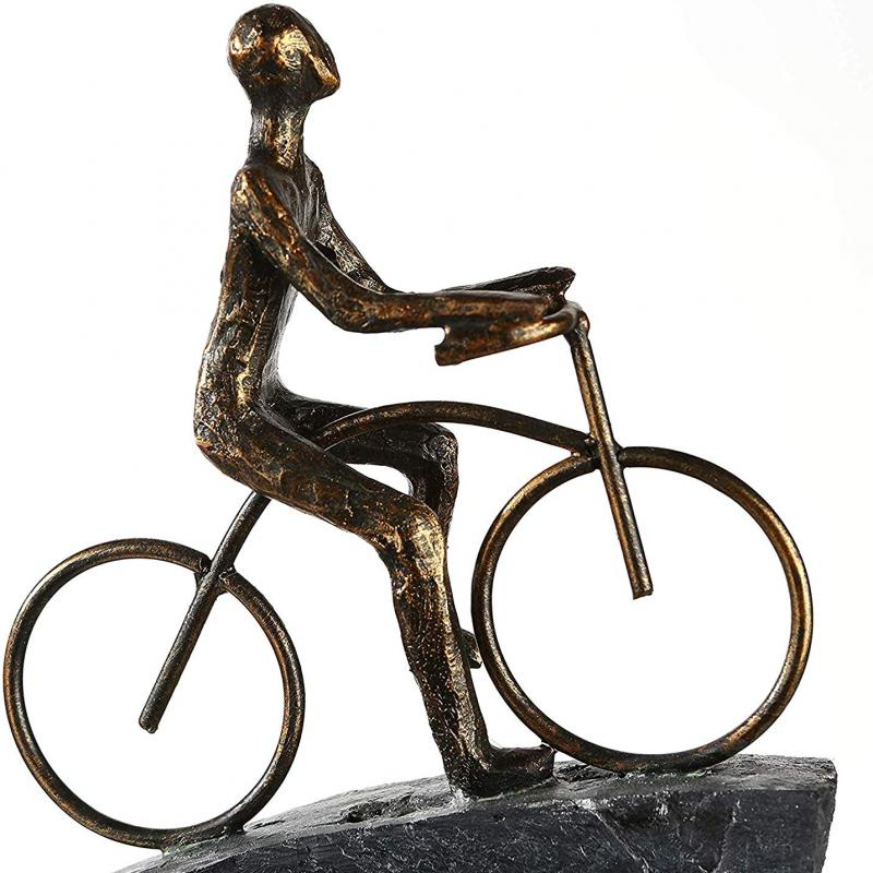 Sculpture Cycliste