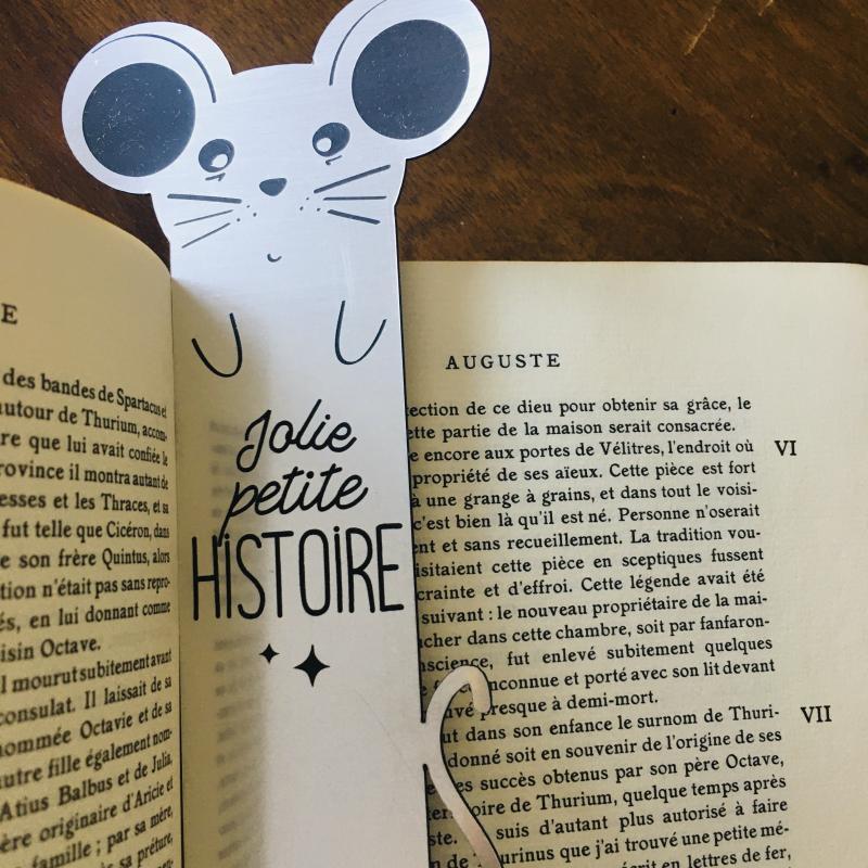 Marque-pages  SOURIS