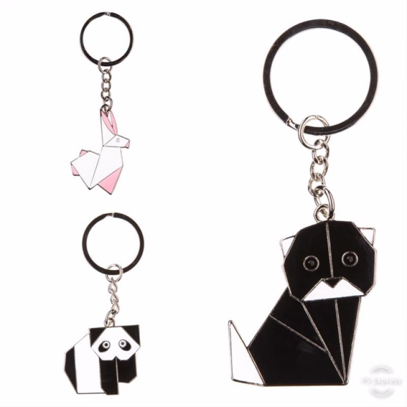 Porte clefs origami