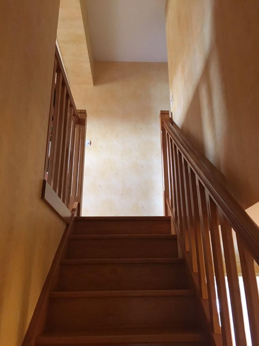 Escalier avant travaux<br>
